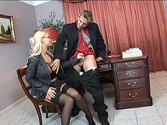 Sekretärin fickt Real Boss Alter Chef