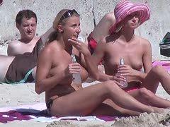 lesbensex am strand