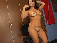 Asiatische Milf Masturbiert