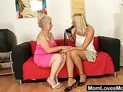 Lesbische omas ficken